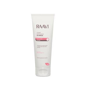CREME ESFOLIANTE DE ARROZ SPA CARE 220G - RAAVI